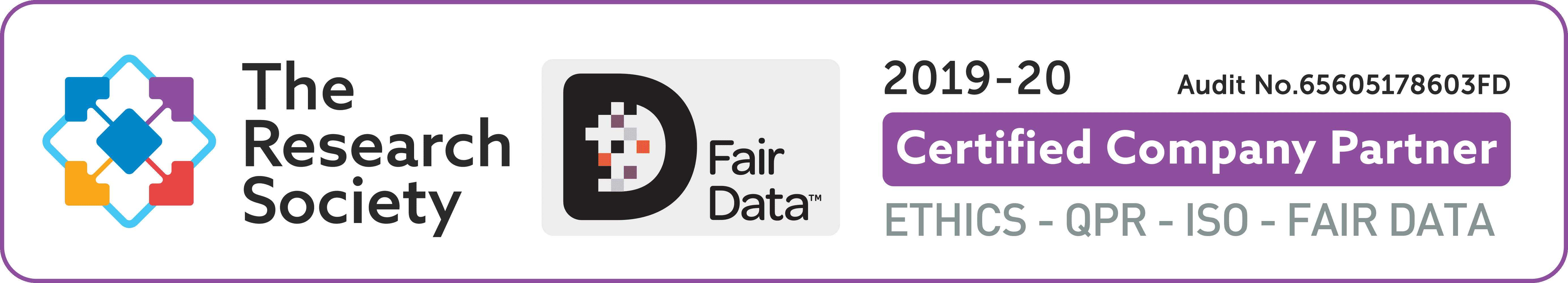 The Research Society and Fair Data - logo
